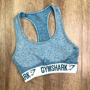 Gymshark Blue Flex Sports Bra Size Small